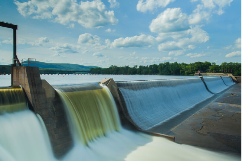 Dams are the key to hydroelectric generation.
